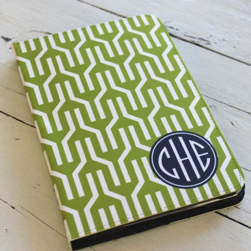 Monogrammed Ipad Mini Case By Clairebella