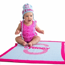 Personalized Baby Blankets and Stroller Blankets