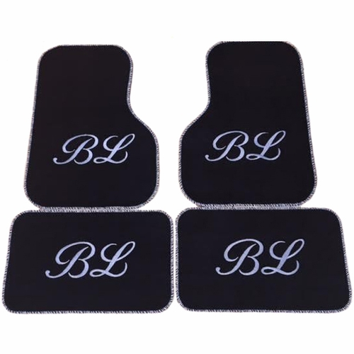 Monogrammed Floor Mats >> Monogrammed Car Mats, Custom, Embroidered, Monogram Floor ...