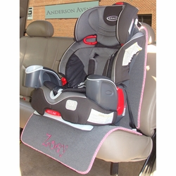 Personalized Car Seat Protector Mats