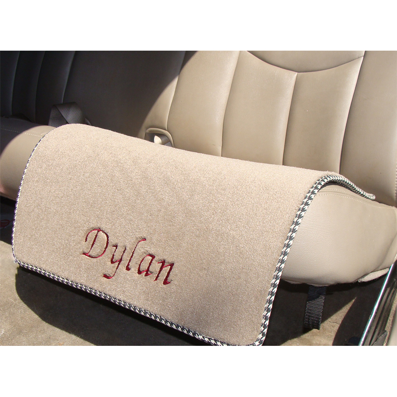 monogrammed car seat protector mat personalized mats. Black Bedroom Furniture Sets. Home Design Ideas