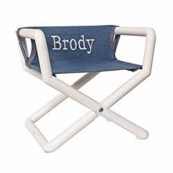 Personalized Childs Jr. Director Chair/ Booster Seat
