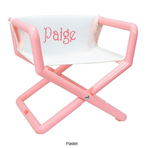 Kidu0027s Personalized Junior Director Chair  sc 1 st  Anderson Avenue : pink directors chair - Cheerinfomania.Com