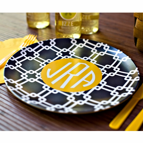 Personalized Melamine Plate by Clairebella & Personalized Melamine Plate by Clairebella - Monogrammed Gifts