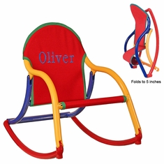 Personalized Kid's Folding Rocker