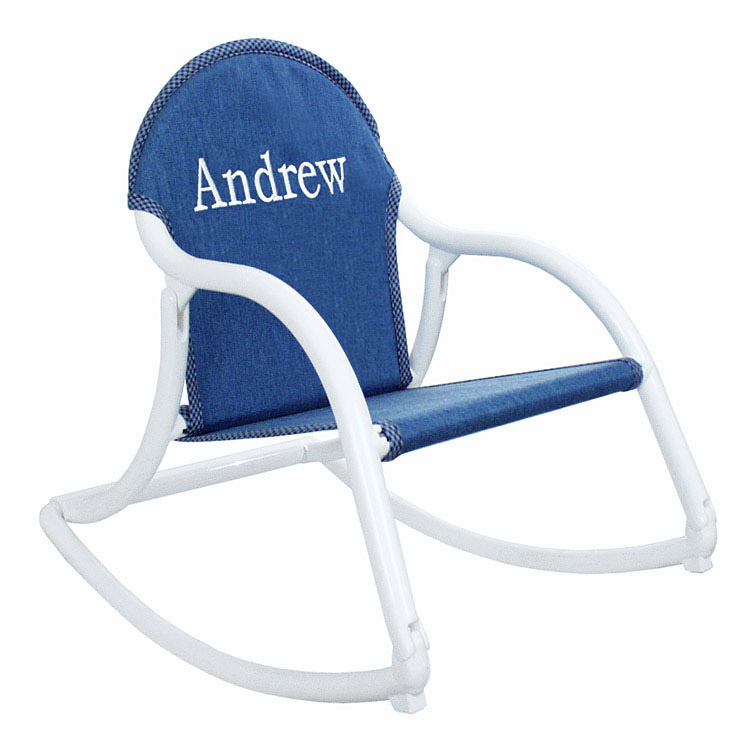 Kid S Personalized Folding Rocker