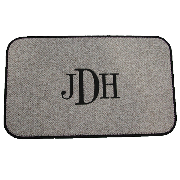 Monogrammed Mats Design Your Own Custom Floor Mat