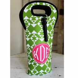Personalized Single Bottle Wine Bag