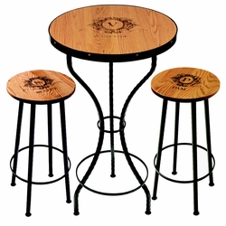 Personalized Sommelier Bar Tables