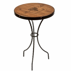 Personalized Espresso Sommelier Side Table