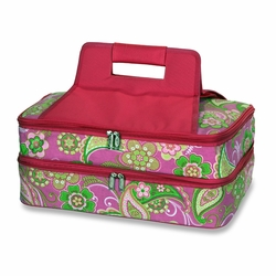 Pink Desire Entertainer Insulated Food and Casserole Carrier