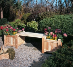 Planter Bench Complete