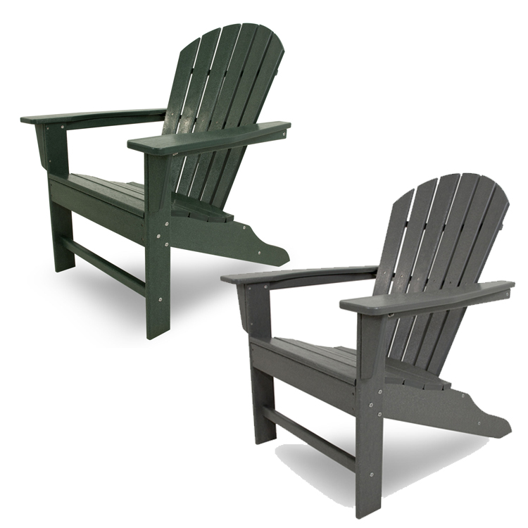 Polywood South Beach Adirondack Chair Adirondack Chairs