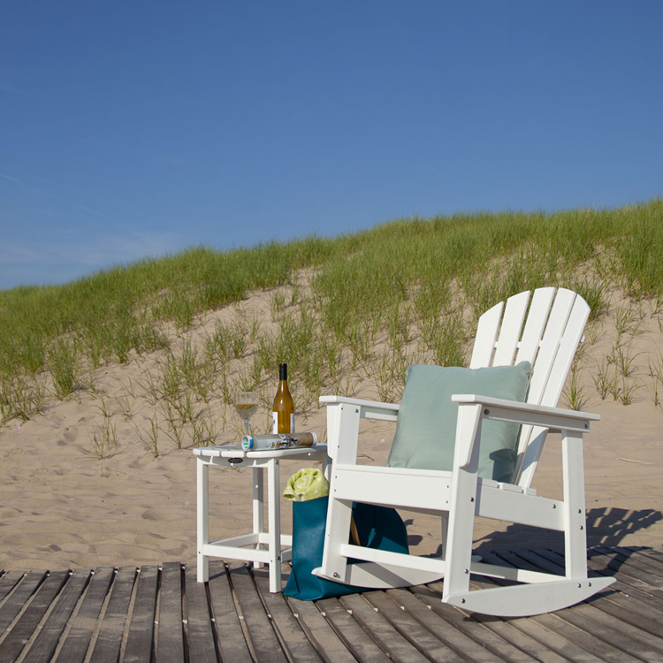 Polywood South Beach Rocking Chair Adirondack Rocking
