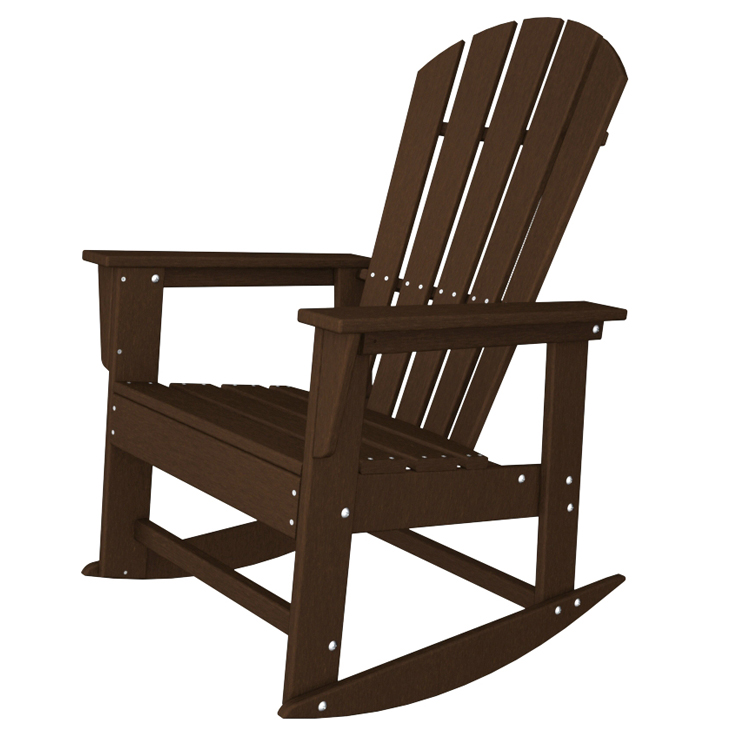 POLYWOOD® South Beach Adirondack Rocking Chair