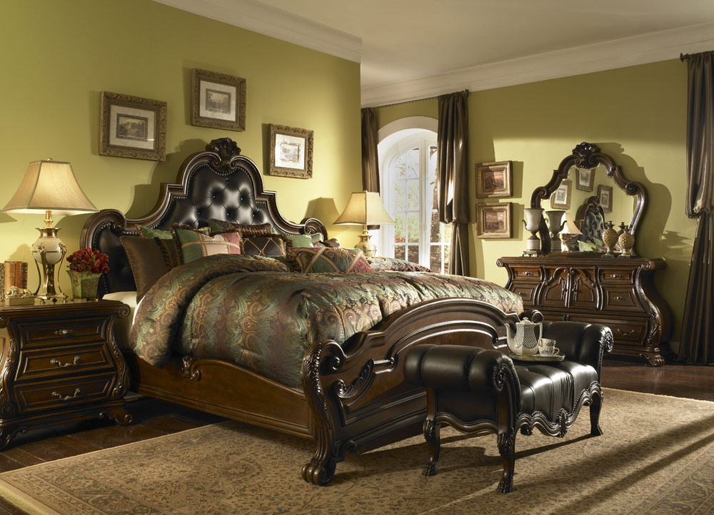 Queen anne luxury bedding set michael amini bedding for Michaels arts and crafts queens