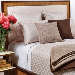 Raffia Coverlet Set in Cream