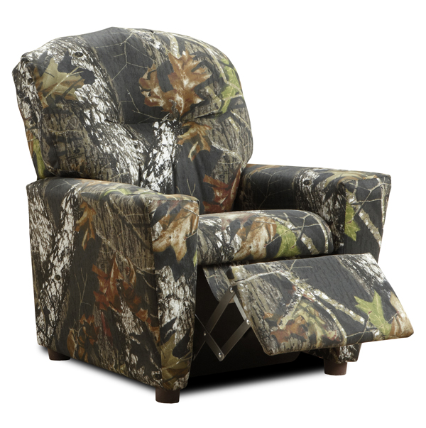 Camo Lounge Chair: Camouflage Recliner For Kids, Child's Camo Recliner Chair