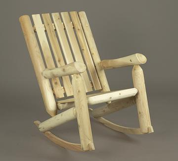 Rustic High Back Rocking Chair & Rustic High Back Rocking Chair Rustic Porch Rockers and Rocking ...