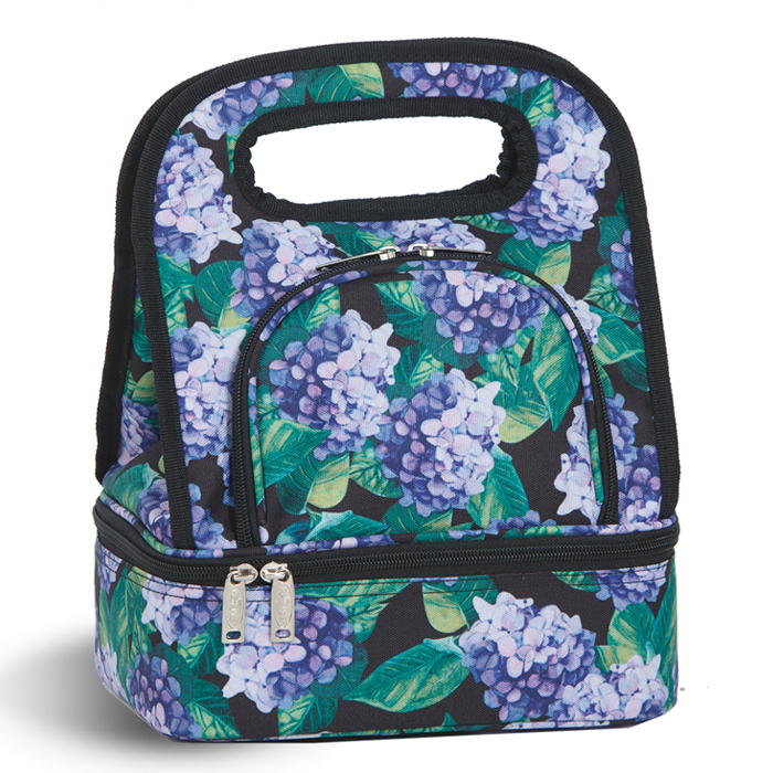 Savoy Lunch Tote Inusalated Monogrammed Picnic Plus