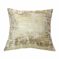 Scratch Pillow in Gold