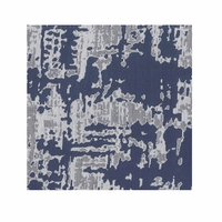 Scratch Pillow in Navy