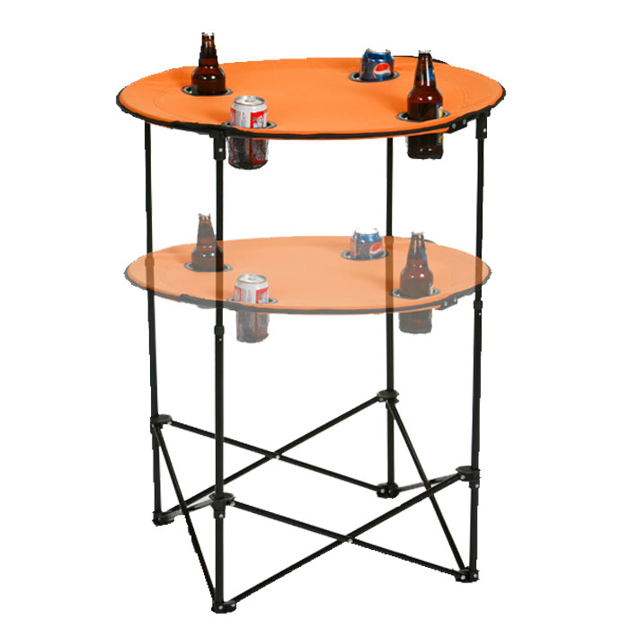 Scrimmage Portable Tailgate Table Folding Adjustable