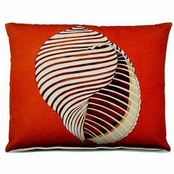 Seashell Outdoor Pillow