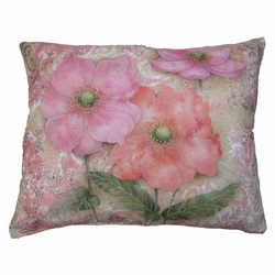 Serene Garden Outdoor Pillow