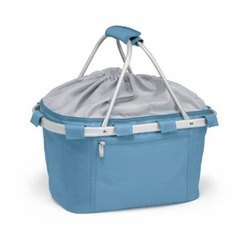 Sky Blue Insulated Market Basket