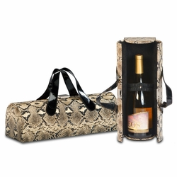 Snake Carlotta Clutch Wine Bottle Tote
