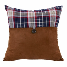 South Haven Blue Plaid Envelope Pillow