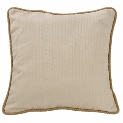 South Haven Knitted Euro Sham with Rope Trim