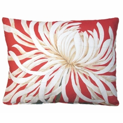 Spider Mum 1 Outdoor Pillow
