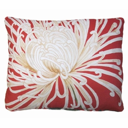 Spider Mum 2 Outdoor Pillow