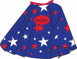 Stars Kid's Personalized Cape
