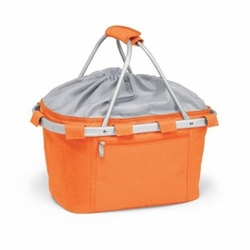 Tangerine Insulated Market Basket