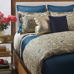 Arabesque Duvet Set in Teal