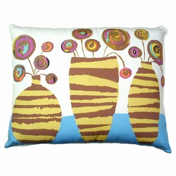 Vases Outdoor Pillow