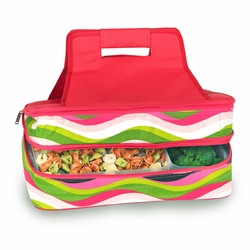 Wavy Watermelon Entertainer Insulated Food and Casserole Carrier