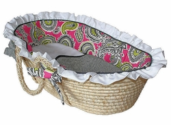 Whimsy Baby Moses Basket