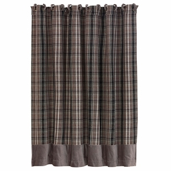 Whistler Plaid Shower Curtain