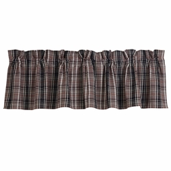 Whistler Plaid Window Valance