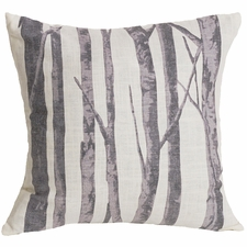Whistler Printed Branches Pillow