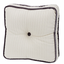 Whistler Tufted Cable Knit Box Pillow