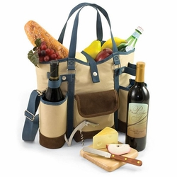 Wine Country Picnic Tote