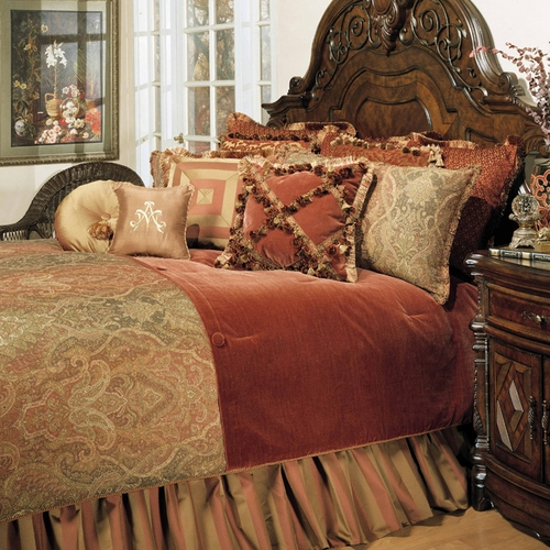Woodside park luxury bedding michael amini bedding for Michaels arts and crafts queens