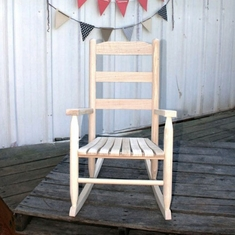 Youth Size Hardwood Rocking Chair