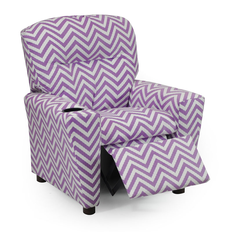 Ziggi Purple Kids Recliner  sc 1 st  Anderson Avenue : recliner for kids - islam-shia.org