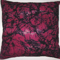 BTK014 Untreated cotton crackle batik pillow cover